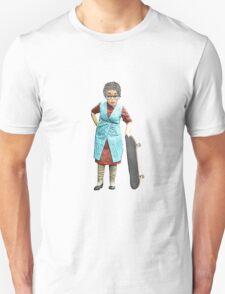 Skateboarding Granny! Unisex T-Shirt