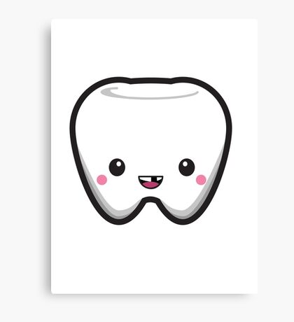 Toothless Tooth Canvas Print