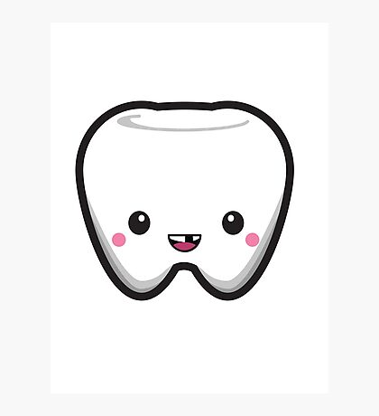 Toothless Tooth Photographic Print