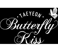 TAEYEON - Butterfly kiss 2 Photographic Print