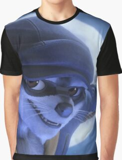 Sly cat Graphic T-Shirt