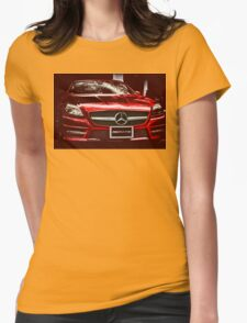 MERCEDES BENZ AMG Womens Fitted T-Shirt