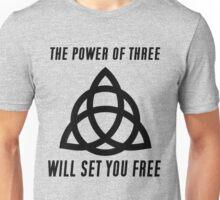 POWER OF 3 Unisex T-Shirt