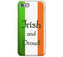 Irish and Proud - phone case iPhone Case/Skin