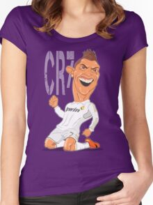 RONALDO Women's Fitted Scoop T-Shirt