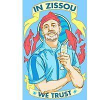 In Zissou we trust Photographic Print