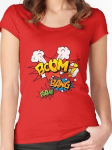 Boom Women's Fitted Scoop T-Shirt