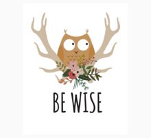 Be Wise Owl One Piece - Long Sleeve