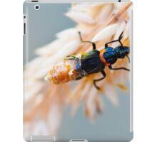 macro bug iPad Case/Skin