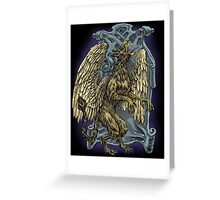 Griffin Crest Greeting Card