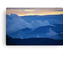 Mountain Layers Canvas Print