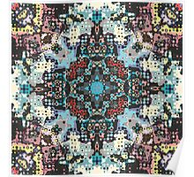 Symmetrical Colorful Abstract Poster