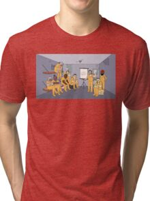 Top secret jail Tri-blend T-Shirt