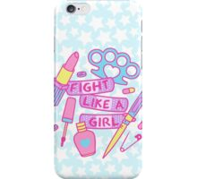 Girl Fighter iPhone Case/Skin