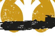 Gold Squadron Sticker