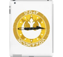 Gold Squadron iPad Case/Skin