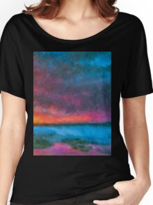 Breakfast at the falls  Women's Relaxed Fit T-Shirt