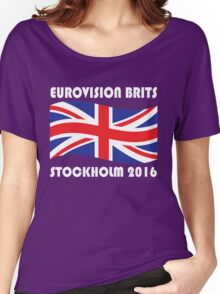 Eurovision Brits Women's Relaxed Fit T-Shirt