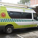 Patient Transport Ambulance, Warragul by Bev Pascoe