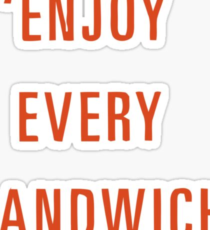 Food quote Sticker