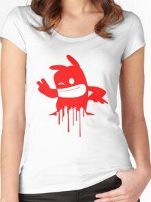 De Blob 2 Women's Fitted Scoop T-Shirt