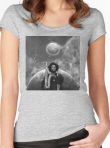 Kamasi Washington - The Epic Women's Fitted Scoop T-Shirt