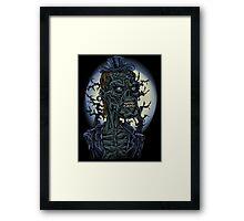 Mr. Zombie Framed Print