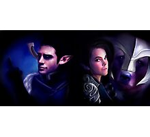 Critical Role - Twins Photographic Print