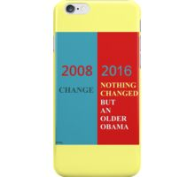No change iPhone Case/Skin