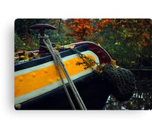 Barge & Rope Canvas Print