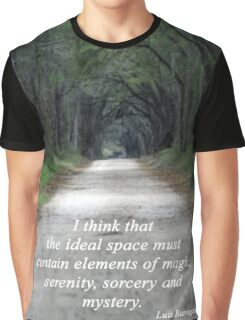 Forest of Magic, Serenity, Sorcery and Mystery Graphic T-Shirt