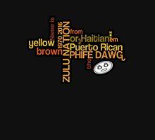 Phife Dawg - Brown Yellow Puerto Rican Haitian T-Shirt [2] Classic T-Shirt