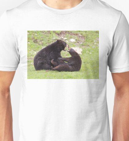 Black bears playing T-Shirt