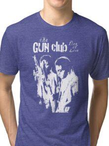 THE GUN CLUB -FIRE OF LOVE- Tri-blend T-Shirt