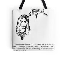 Groove on Grass Tote Bag