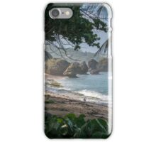 Lonely Beach in Barbados iPhone Case/Skin