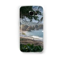 Lonely Beach in Barbados Samsung Galaxy Case/Skin