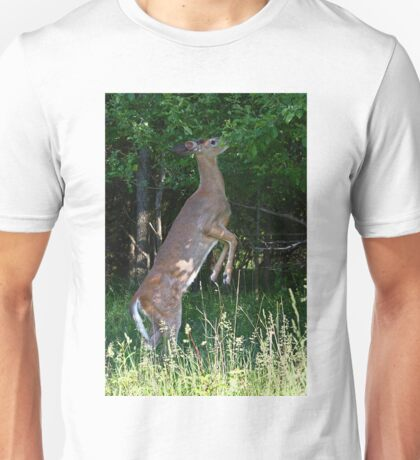 Foraging for food - White-tailed deer T-Shirt