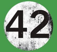 42 - Black Circle One Piece - Short Sleeve
