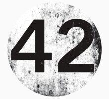 42 - Black Circle Kids Tee