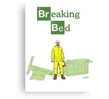 Breaking Bed Parody Canvas Print