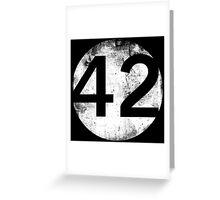 42 - Circle Hollow Greeting Card