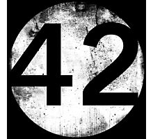 42 - Circle Hollow Photographic Print