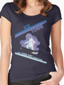 Ice Town Women's Fitted Scoop T-Shirt