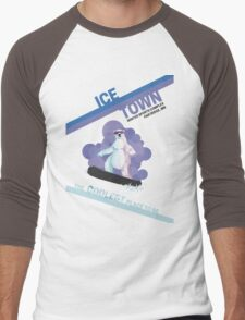 Ice Town Men's Baseball ¾ T-Shirt