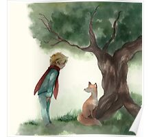 Little Prince and the Fox Poster