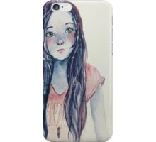 watercolour portrait iPhone Case/Skin
