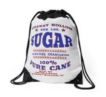 Vintage Sugar Sack Design  Drawstring Bag