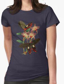 TIR-Butterfly-6 Womens Fitted T-Shirt