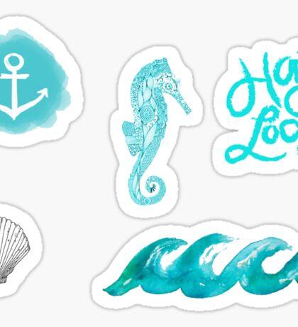 Beachy Tumblr Stickers 2 Sticker